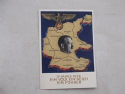 WW2,Hitler képeslap,1938.