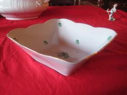 Herendi ,salátás vagy desszertes tál 27,5 x 27,5 cm