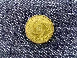 5 reichspfenning 1925 F 8id2939)