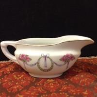 Antik porcelán szószós kínáló