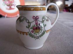 Bűbájos Copeland (antik angol fajansz) tejszínes kannácska