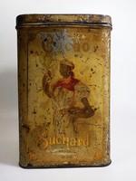 Antik  Suchard kakaó pléh doboz