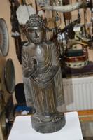 Keleti nagyméretű fa faragott figura