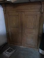 Antik sváb paraszt szekrény 1800-as évek végéből