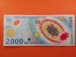 Románia 2000 Lej 1999 napfogyatkozás /id 3501/