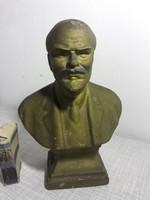 17 cm magas Lenin mellszobor fém