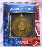 Sacagawea bronz  dollár emlékveret 2000, tanusítvánnyal,ritkább darab.