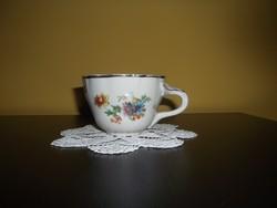 Antik Zsolnay teás csésze (02)