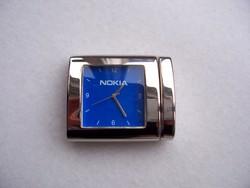 Digitális óra, útióra dobozában (Nokia) Gyönyörű, hibátlan design.