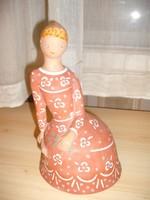 Berkovits Anna kerámia figurája