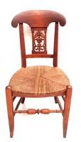 Antik bieder szék
