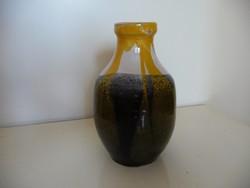 Csákvári kerámia váza (16cm)