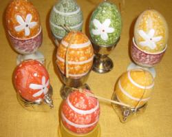 8 db  húsvéti tojás dekoráció