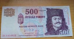 2006 EC 500 Forint 1956-os Emlékkiadás