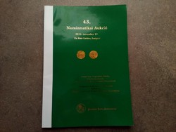 43. Numizmatikai Aukció 2016. november 19. Pannonia Terra Numizmatika/id 5509/