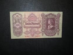 """100 pengő 1930 """" csillagos"""" extraszép, hajtatlan"""