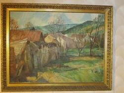 Udvary Pál , Kőszeg című festménye !