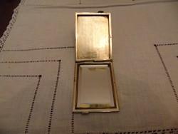 Antik ezüst pipere puderes tükör