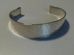 Régi kézműves ezüst karkötő