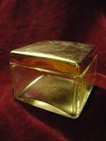 Fém tetejű csiszolt pipere üveg 190131/004