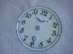 Zománcozott  óra számlap  100  mm   ,nem használt !