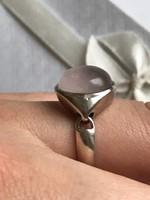 Ezüst designer mozgó gyűrű 19mm belső átmérő