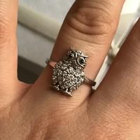 Ezüst gyűrű 18mm belső átmérő