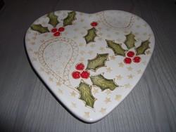 Pataki kerámia kínáló tányér