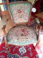 Csodás gobelin szék,fotel