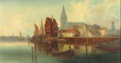 Van Hoom jelzéssel : Holland kikötő