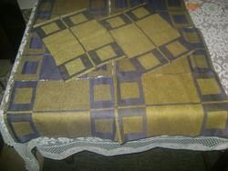 Textil szalvéta terítékhez - nyolc darab