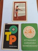 1967-es naptár 3 darab 1500.-Ft