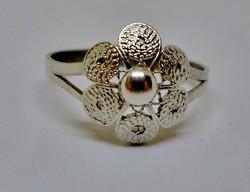 Nagyon szép antik ezüst gyűrű