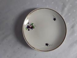 Gránit ibolya mintás tányér / 2190