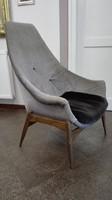 Design magastámlás tervezett fotel