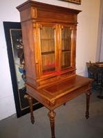 Antik, ónémet,felépítményes íróasztal!