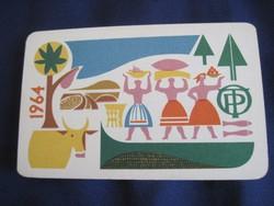 1964. Kártyanaptár - OTP