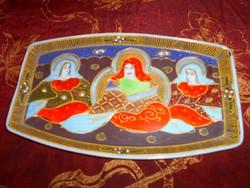 Antik japán SATSUMA porcelán  tálka-kézi festéssel