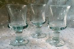 Talpas likőrös poharak 3db