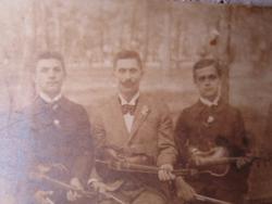 EREDETI DANKÓ PISTA NÓTA KIRÁLY FOTÓ HEGEDŰ 1895