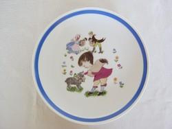 Kahla porcelán mese gyerek tányér