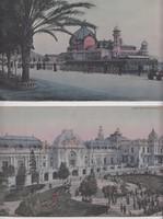Antik Panorama képeslapok 14,5 x 28 cm, cca. 1900-as évek elejéről. 2 db egyben eladó