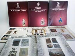 BÁV  Művészeti  aukció katalógus 1990 -as évektől , összesen 8 darab