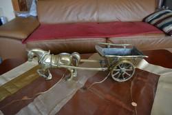 Réz lovaskocsi