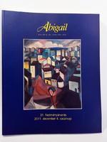Abigail festmény árverés  katalógus 2011