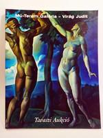 Virág Judit Tavaszi festmény aukció katalógus 2004.