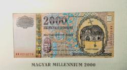Magyar Millennium 2000 forint UNC