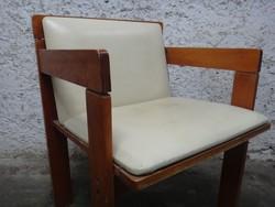 Bôr karos szék