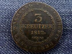 3 Krajcár 1812 (B?) (id5303)