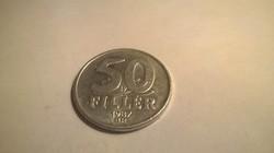 1987-es 50 Fillér .
